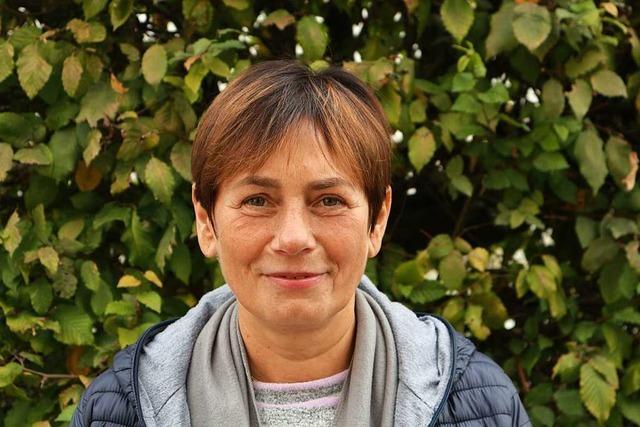 Virginija Karpaviciene arbeitet als Pflegekraft in einer Müllheimer Familie