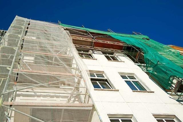 Lörrach plant Offensive für Gebäudesanierungen