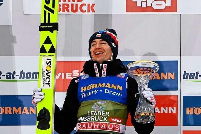 Kamil Stoch übernimmt die Gesamtführung der Vierschanzentournee