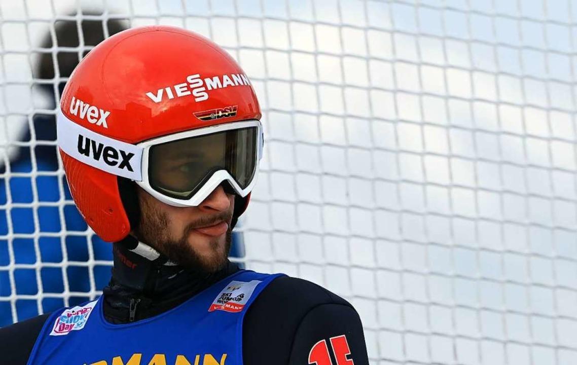 Markus Eisenbichler ist und bleibt Gesamt-Fünfter.  | Foto: CHRISTOF STACHE (AFP)