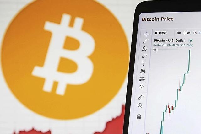Bitcoin kratzt an der 35 000-Dollar-Marke