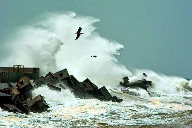 Als vor 300 Jahren eine Sturmflut Helgoland in der Neujahrsnacht teilte