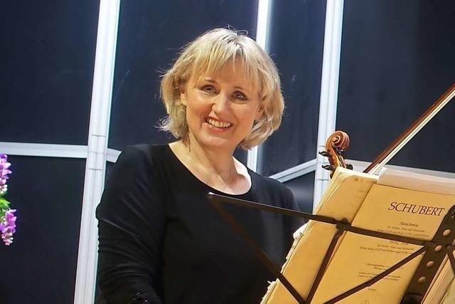 Geigerin Kathrin Rabus ist eine krisenerprobte Konzertmeisterin