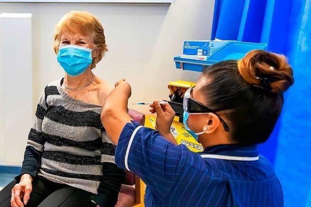 Briten müssen länger bis zur zweiten Impfdosis warten