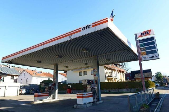 In den Ex-Tankstellenshop in Ebnet zieht ein Fahrradladen ein