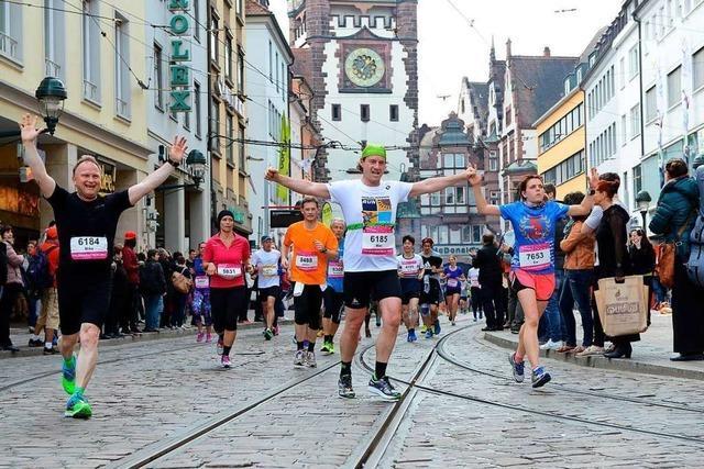 Wer sich jetzt für den Freiburg Marathon anmeldet, kann sparen