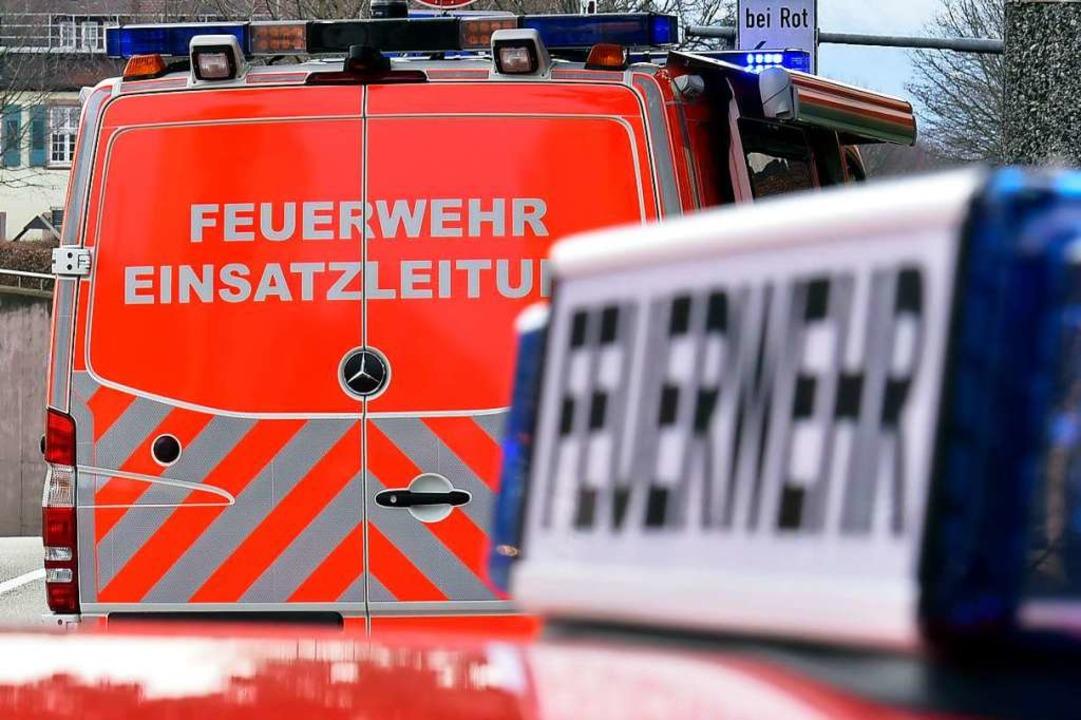 Die Feuerwehr konnte zwar den Brand lö..., dass sie in der Klinik später starb.  | Foto: Thomas Kunz