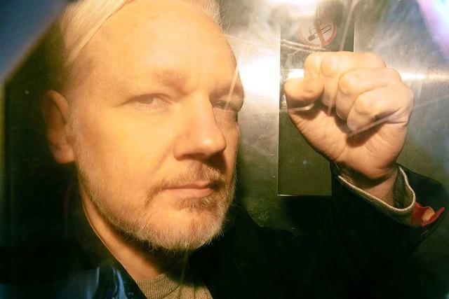 Britisches Gericht lehnt US-Auslieferungsantrag für Assange ab