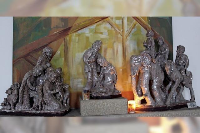 Krippenkunst aus Keramik