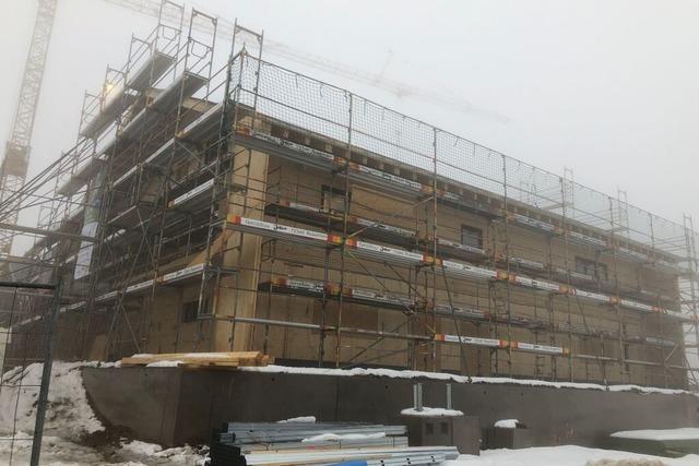 Zu Besuch auf der höchsten Baustelle des Landkreises Emmendingen