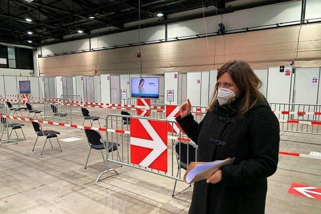 Zum Start nur 300 Impfungen am Tag im Offenburger Zentrum