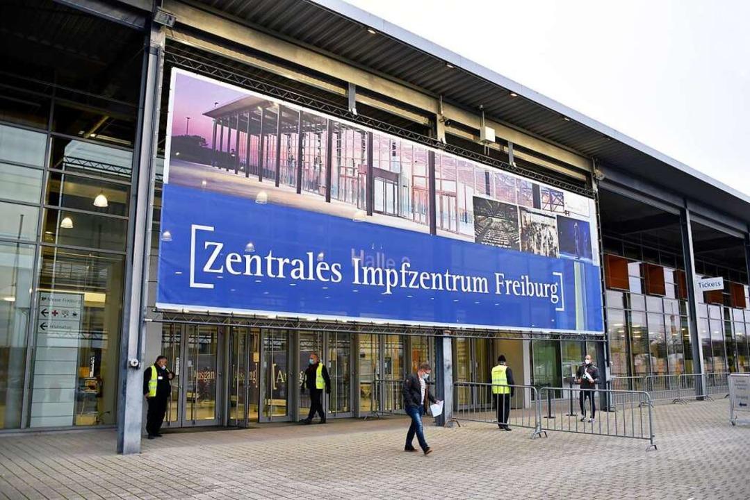 Das Freiburger Impfzentrum  | Foto: Thomas Kunz