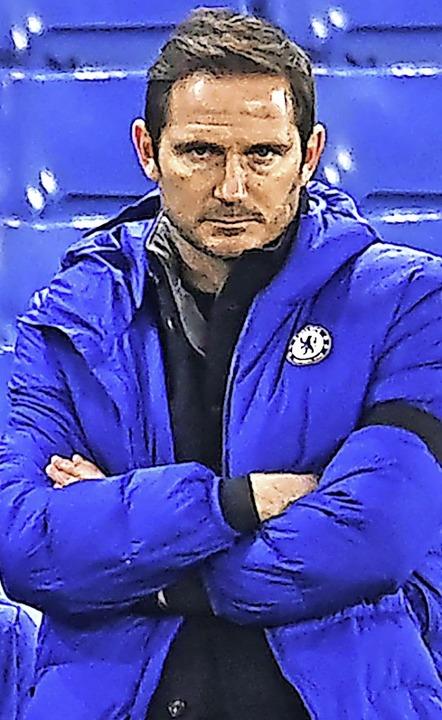 Schaut skeptisch: Frank Lampard  | Foto: ANDY RAIN (AFP)