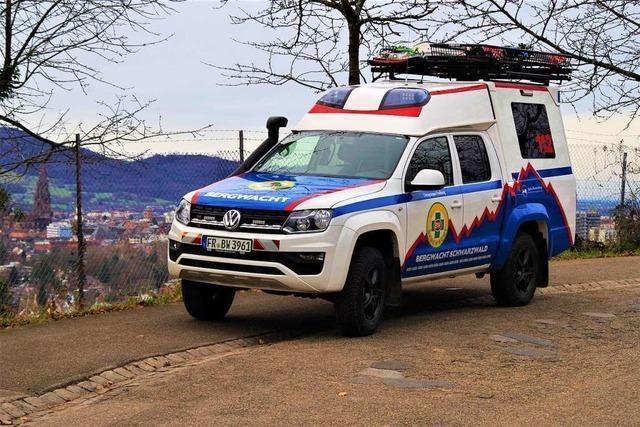 Neues Spezialfahrzeug für Rettungseinsätze in den Bergen