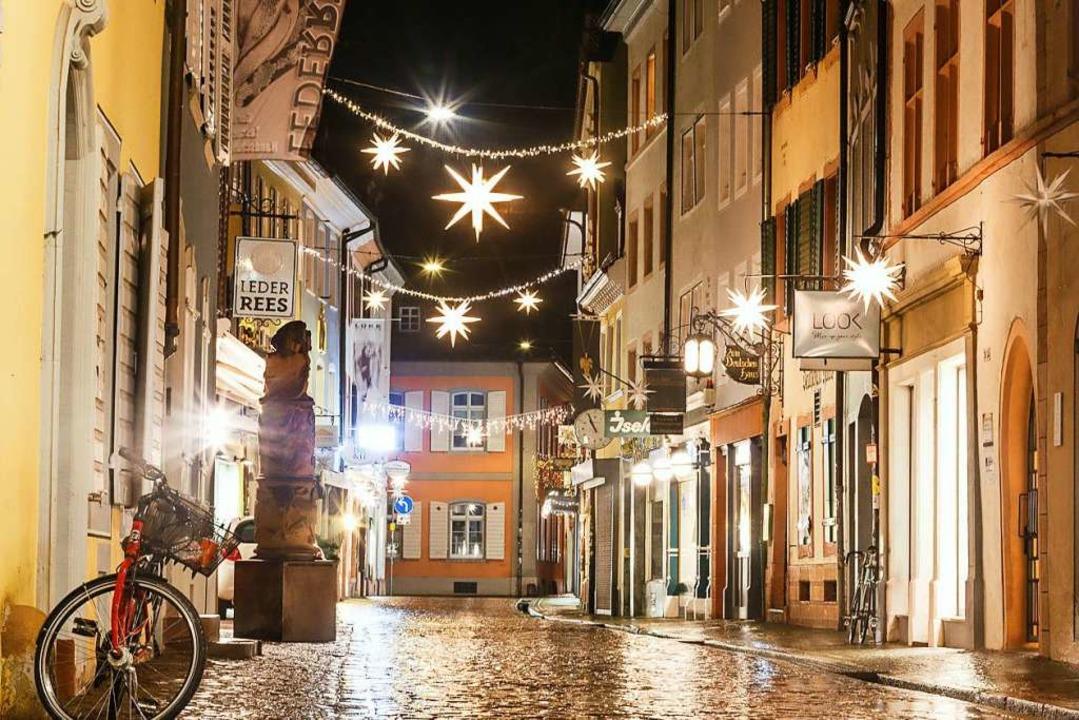 Die Innenstädte – hier Freiburg ...ere Ausgangsbeschränkungen diskutiert.  | Foto: David Lohmueller