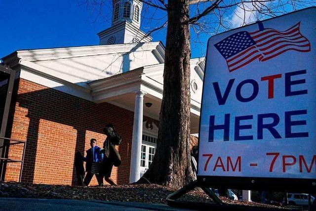 US-Wahlergebnis zur Bestätigung im Kongress - Stichwahl in Georgia