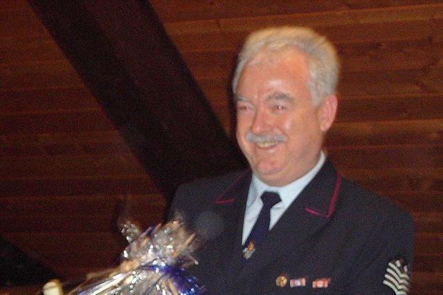 Trauer um den früheren Bonndorfer Feuerwehrkommandanten Walter Hirscher
