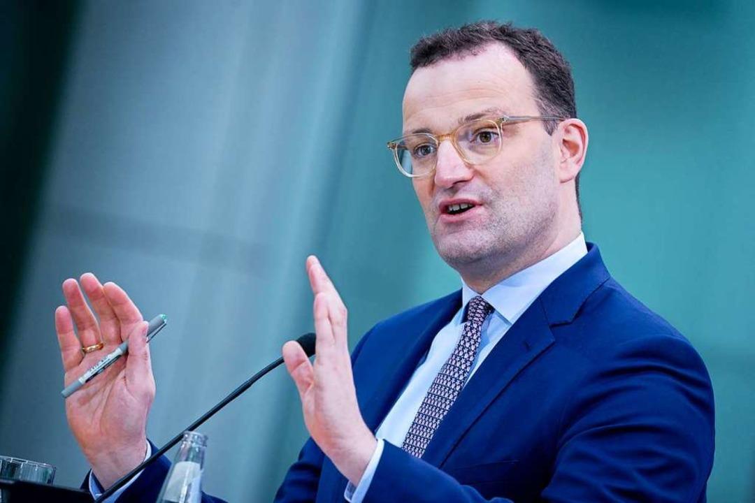 Gesundheitsminister Jens Spahn  | Foto: Kay Nietfeld (dpa)