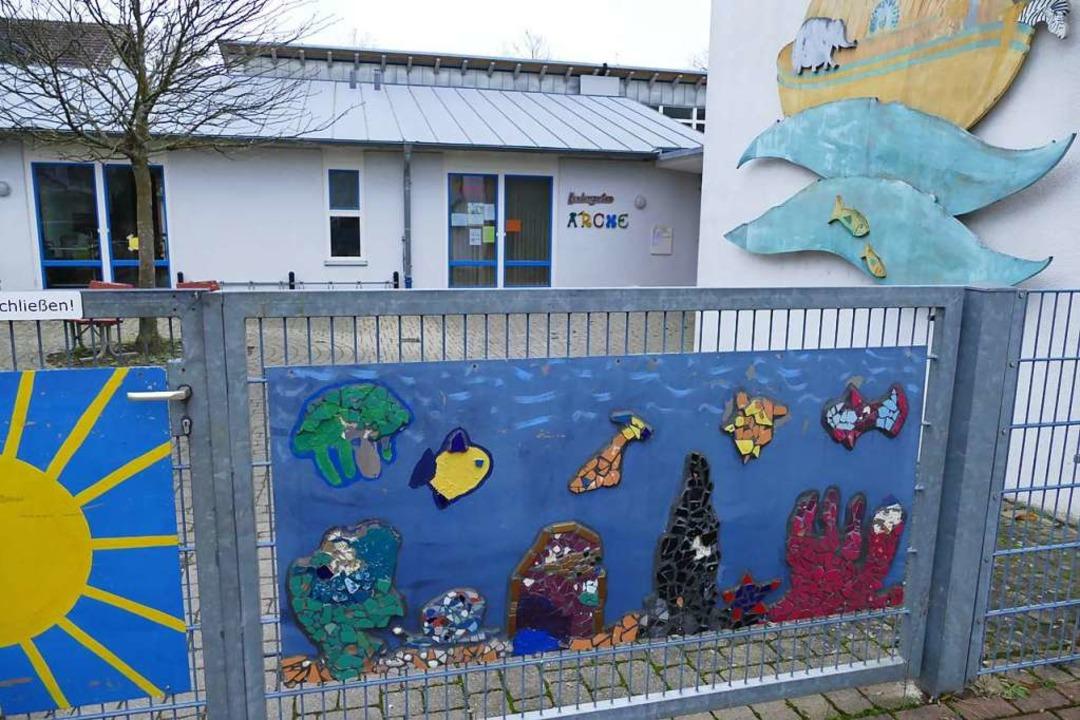 Der Kindergarten Arche soll um zwei Gruppenräume erweitert werden.  | Foto: Agnes Pohrt