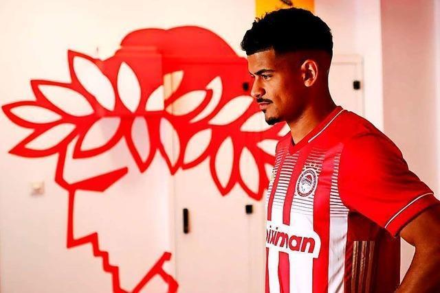 Wie es dem Freiburger Mohamed Dräger bei Olympiakos Piräus geht