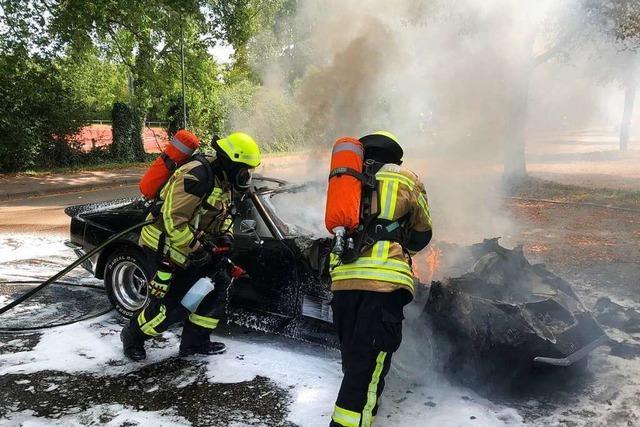 Ein normales Jahr für die Feuerwehren in und um Emmendingen