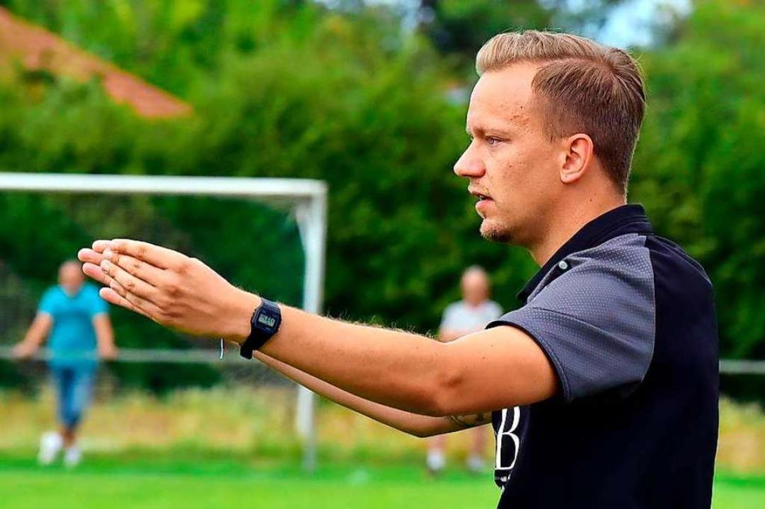 Beim FV Herbolzheim  will Sascha Schrö...ich einen guten Abschluss hinbekommen.  | Foto: Daniel Thoma