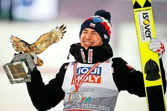 Kamil Stoch gewinnt die 69. Tournee, Karl Geiger wird noch Zweiter