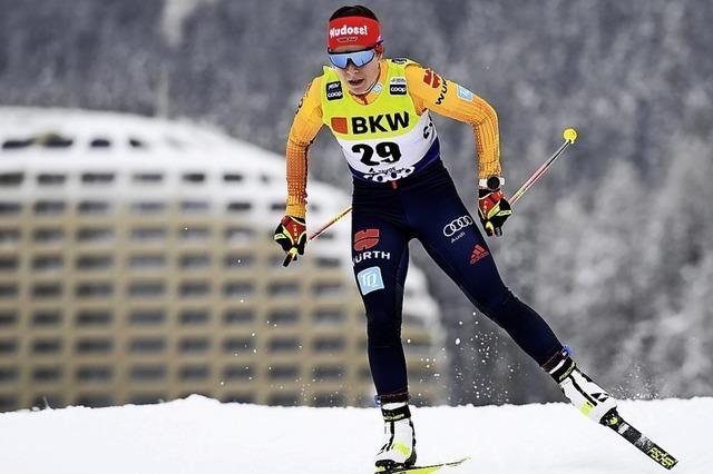 Katharina Hennig mischt oben mit