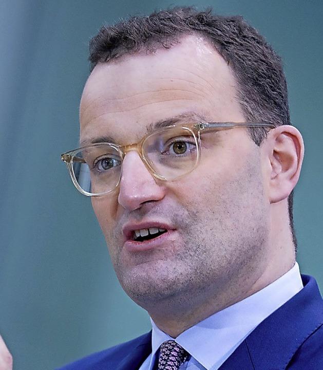 Minister Jens Spahn    Foto: Kay Nietfeld (dpa)