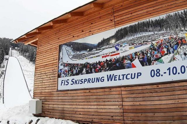 Skisprung-Weltcup Neustadt in einem Hexenkessel ohne Fans