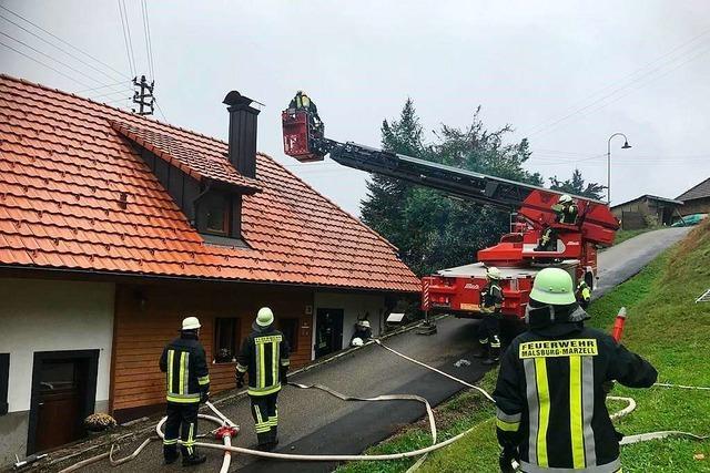 Kanderns Feuerwehr blickt auf ein arbeitsreiches Jahr zurück
