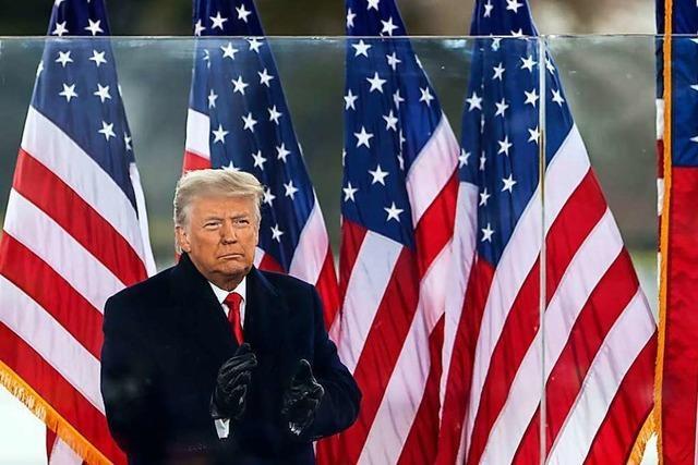 Der Brandstifter im Weißen Haus trägt die Verantwortung für den Sturm aufs Kapitol