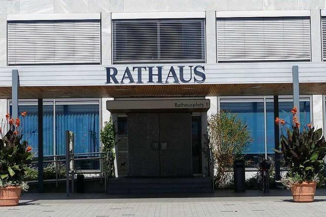 Im Rathaus Weil am Rhein gibt es fast keine unbesetzten Stellen mehr