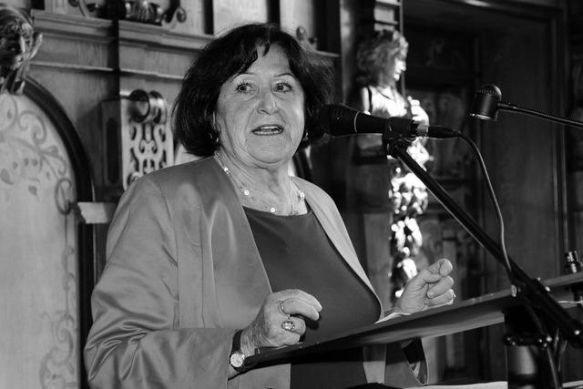 Frühere Freiburger SPD-Stadträtin Angelika Wehinger gestorben