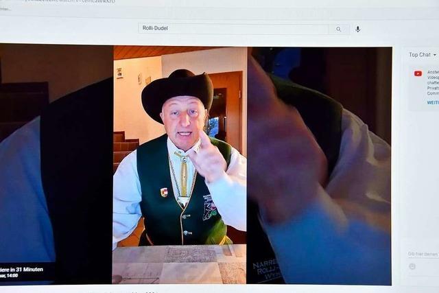 Rolli-Dudel eröffnet die Fasnacht virtuell, kunterbunt und voller Jubel