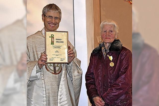 46 Jahre Dienst für die Kirche