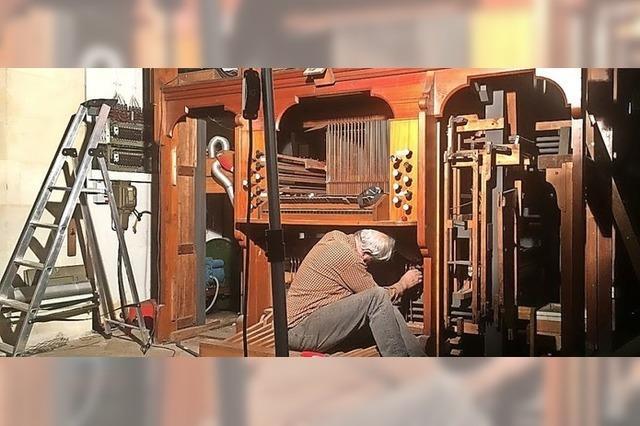 Am Ärmelkanal wechselt eine Orgel die Seite