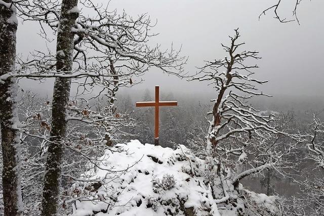 Röthekopf versinkt im Schnee