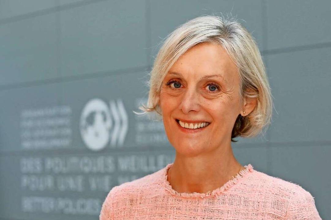 Die promovierte Politologin Monika Que... Abteilung für Sozialpolitik der OECD.  | Foto: Andrew Wheeler