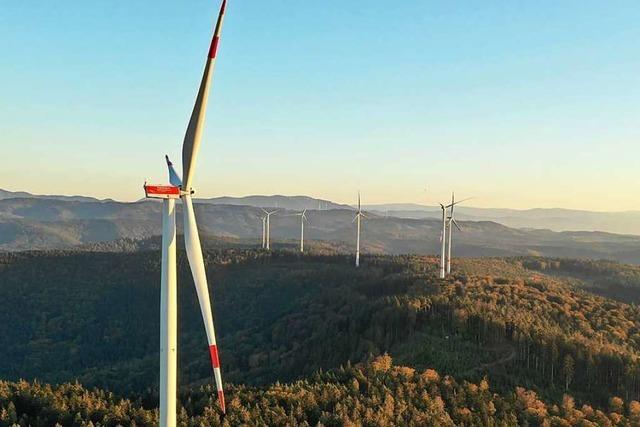 Bürgerwindpark Südliche Ortenau erzielt Stromrekord