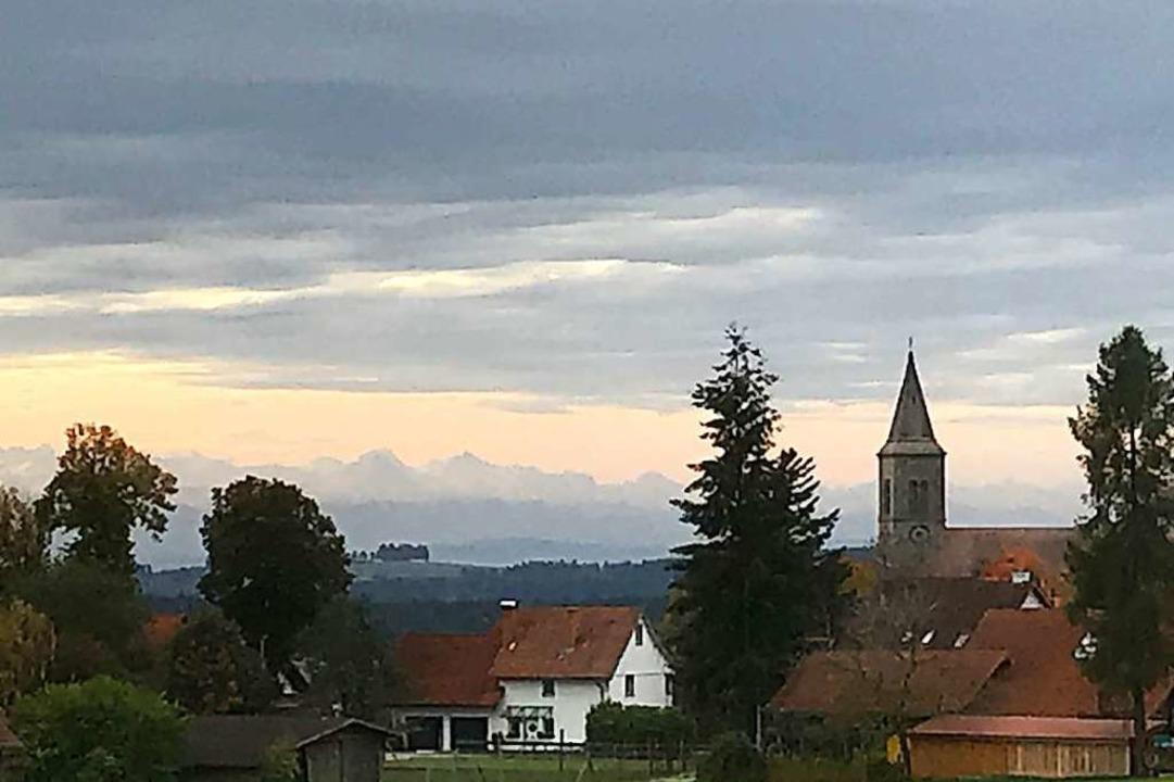 So fern wie die Berner Alpenkette von ...eelsorgeeinheit lückenlos aufzuklären.  | Foto: Stefan Limberger-Andris