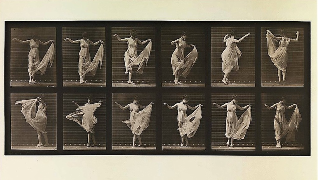 "Eine tanzende Frau – zu sehen au...Werk ""Animal Locomotion""    | Foto: Metropolitan Museum of Art / Wikimedia Commons"