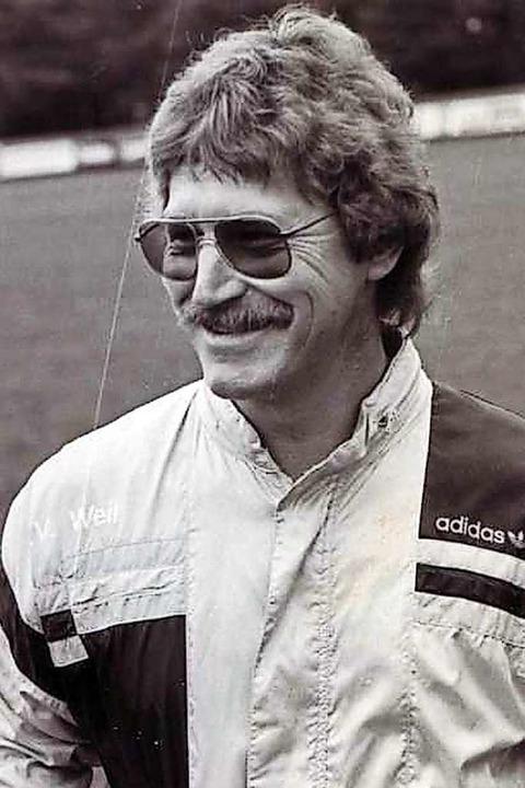 Rolf Sutter als Weiler Coach (1988/89)  | Foto: SV Weil 1910