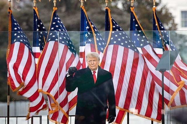 Wie Trump zum Sturm aufs Kapitol einlud, grenzt an Hochverrat