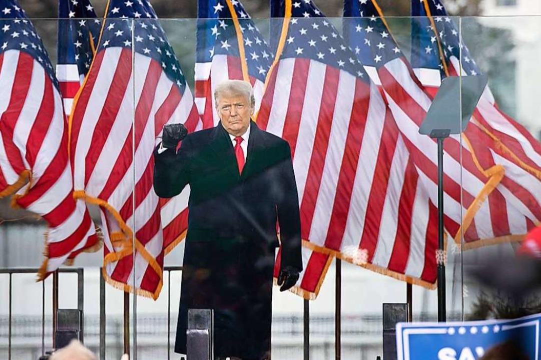 Donald Trump, Präsident der USA, kommt... Betrug bei der Abstimmung bekräftigt.  | Foto: BRENDAN SMIALOWSKI (AFP)