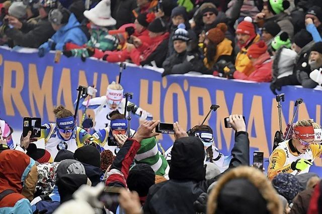 Stille statt Biathlon-Party