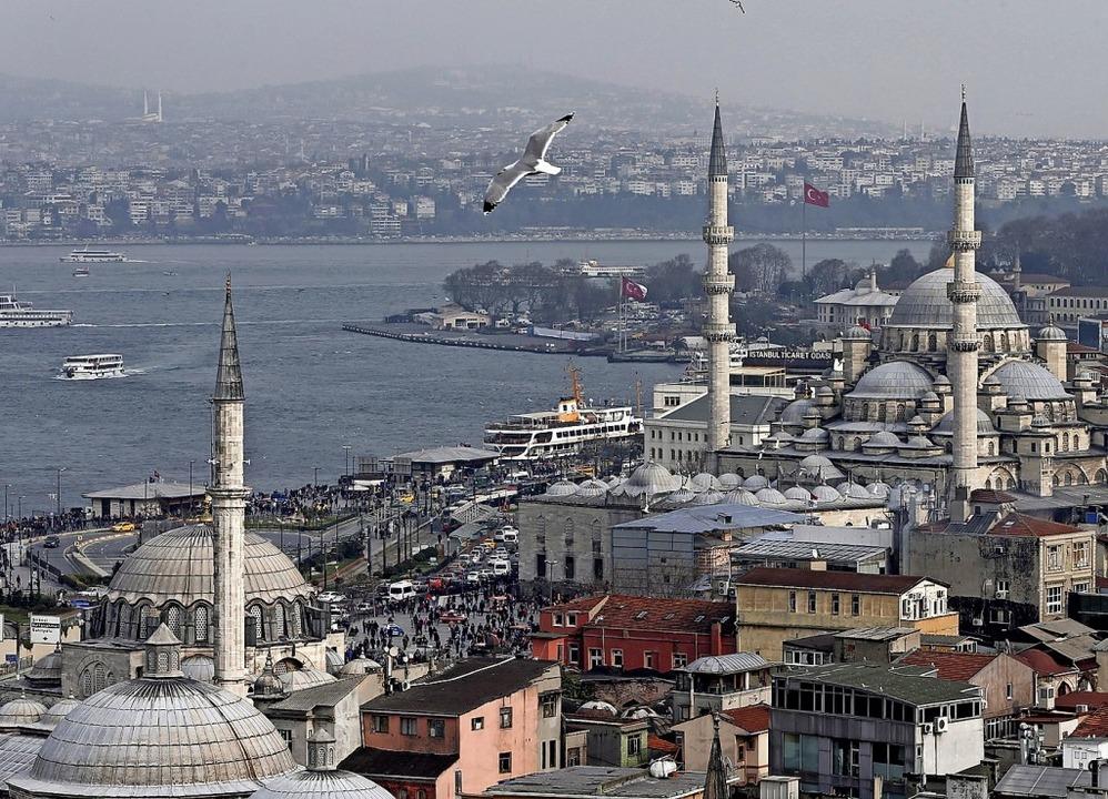 Istanbul ist umgeben von Wasser, doch das Trinkwasser wird knapp.  | Foto: Sedat Suna