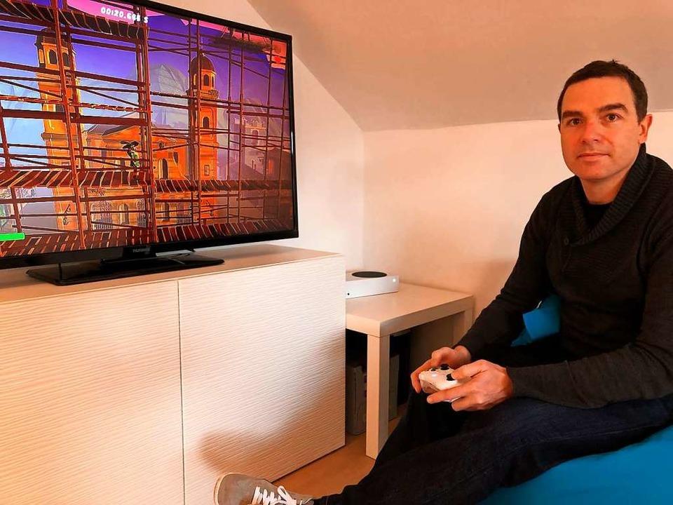 Markus Wehrle spielt sein eigenes Spiel immer noch gern.  | Foto: Felix Lieschke