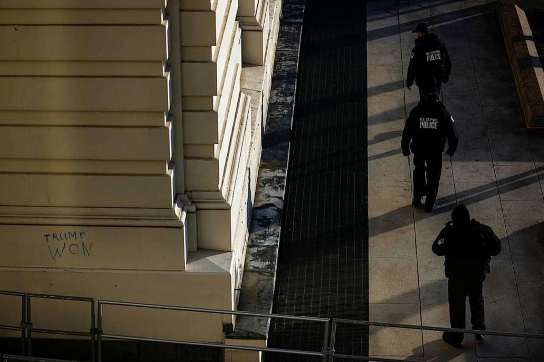 Ansturm eines gewalttätigen Mobs  | Foto: Samuel Corum (AFP)