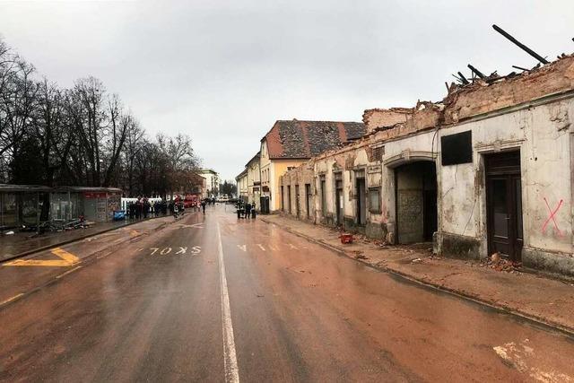 Südwest-Feuerwehren helfen in Kroatien:
